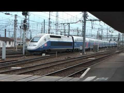 Exceptionnel!! un TGV Duplex à Bordeaux St Jean!