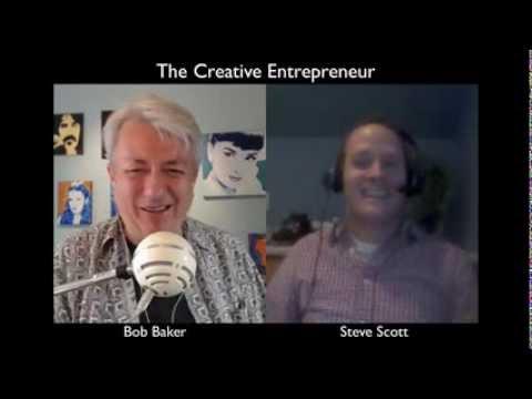 Building a Kindle Ebook Business & Productivity Tips w/ Steve Scott - Creative Entrepreneur #013