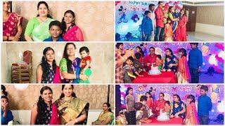TV Artist Pravallika (Ashta Chamma Serial)Kids Birthday Celebration Video/Amulya's Kitchen & Vlogs