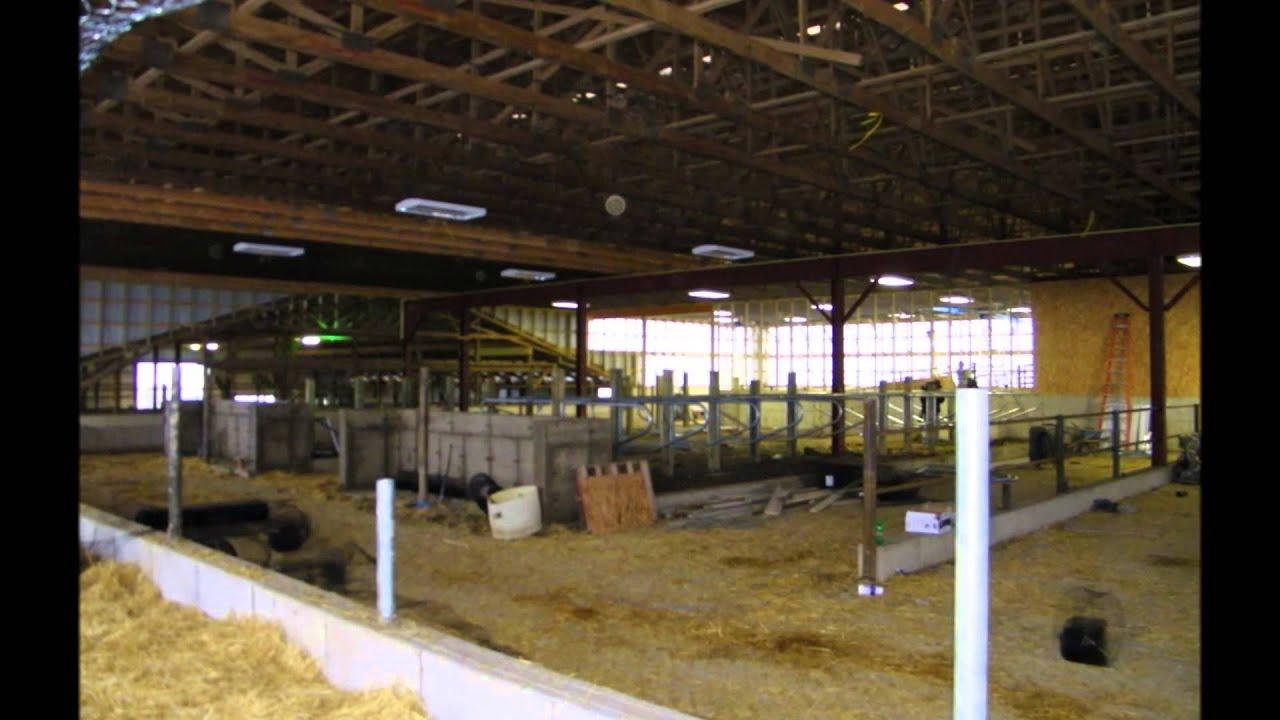 Usa Pole Barns Livestock Barns Youtube