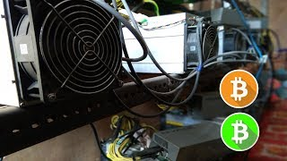 Tour to Mini Bitcoin Mining Farm in World Coldest Place