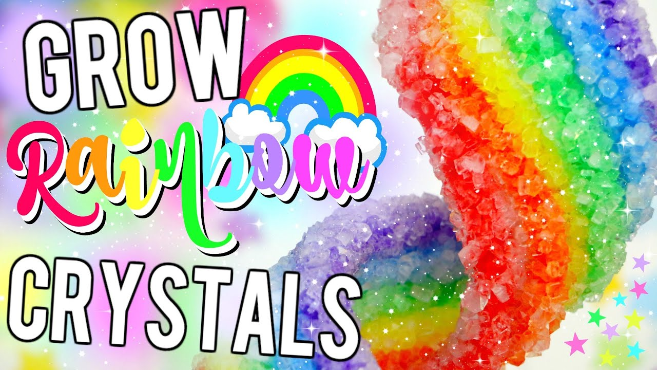 Diy rainbow crystals how to grow unicorn rainbow crystals youtube how to grow unicorn rainbow crystals youtube ccuart Image collections