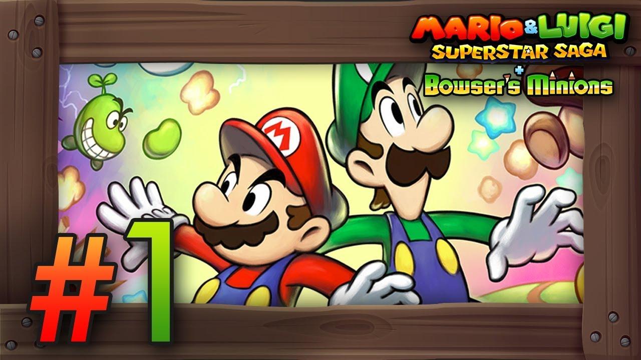Mario Luigi Superstar Saga Bowser S Minions Walkthrough Part 1 Koopa Cruiser 3ds Gameplay
