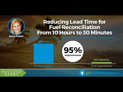 SUCCESS STORY: Reducing Lead Time for Fuel Reconciliation