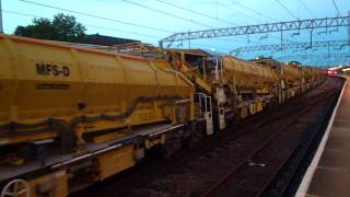 The longest engineering train in the UK 19/7/15