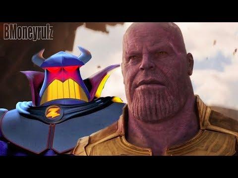 Disney Pixar's AVENGERS: INFINITY WAR Mash-Up Trailer Parody