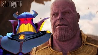 Disney Pixar's AVENGERS: INFINITY WAR Mash-Up Trailer Parody