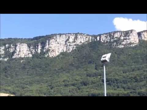 HD Geological rock formation Chartreuse Mountains by Grenoble France Part 2 of 2
