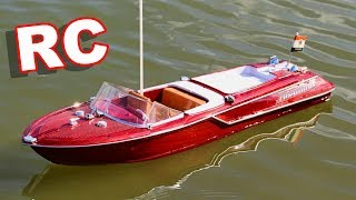 Vintage Watercraft Style RC Boat - TheRcSaylors
