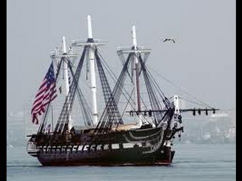 USS Constitution -- the Oldest Commissioned Warship in the World...Still Sailing!