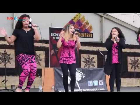 Tonga Sisters - Fetty Wap Mash Up at ASB Polyfest 2018 - Tongan Stage
