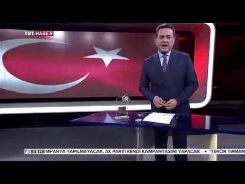 Yılın En İyi Haber Spikeri Zafer KİRAZ TRT Haber