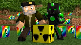 Minecraft: BOMBA NUCLEAR!! c/ sTaXx | RAINBOW Lucky Blocks Epic Race