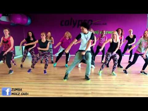 Sacudelo – Proyecto Uno | Merengue Zumba Fitness choreography by Moez Saidi
