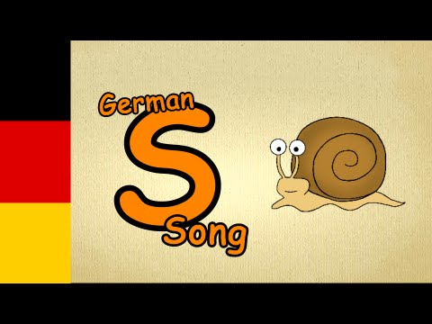 german songs for beginners with lyrics - letter S-Song - german songs for children with subtitles