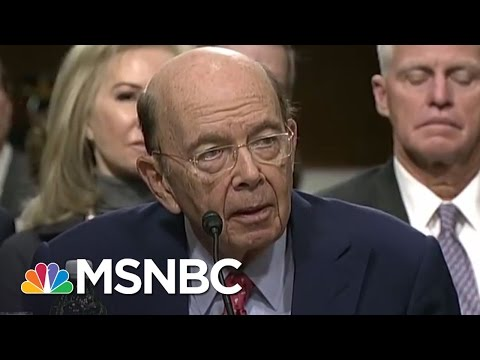 Wilbur Ross At Nexus Of Donald Trump Russian Deal | Rachel M