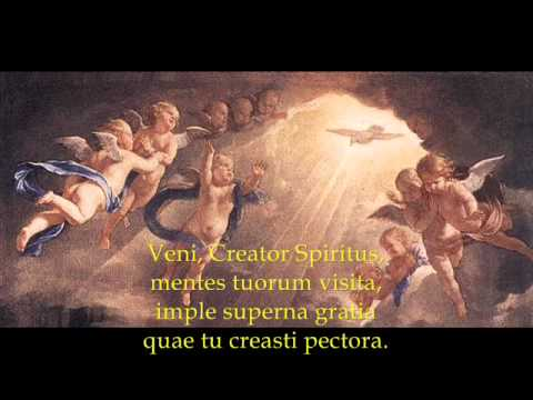 Veni Creator Spiritus Catholic Gregorian Chant Songs