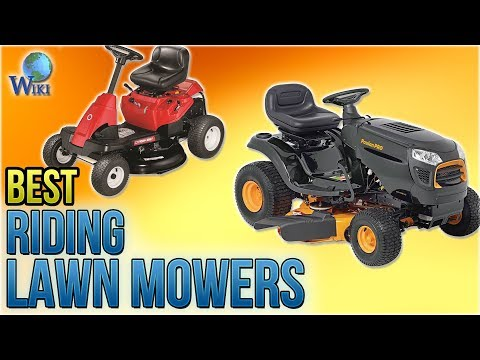 8 Best Riding Lawn Mowers 2018