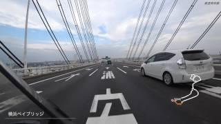 【バイク車載】4K 首都高速周遊 ノンストップVer. (FDR-X3000)