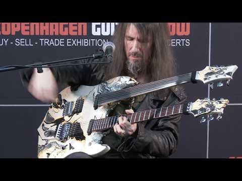 Bumblefoot, Ron Thal at Copenhagen Guitar Show 2017, day 2 (former Guns N' Roses)