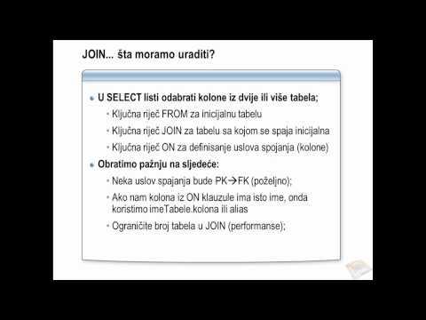 SQL Server :: Spajanje tabela JOIN