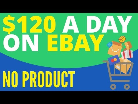 How To Make Money On EBay With No Product 🤑 Making Money On EBay 2019-2020 🤑🤑🤑