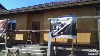 Этапы строительства: Каркасный дом с терасой - 100 м.кв.((Rus) Одноэтажный каркасный дом по канадской технологии. Проект этого дома, мы создавали совместно с заказчик..., 2015-03-18T10:21:24.000Z)