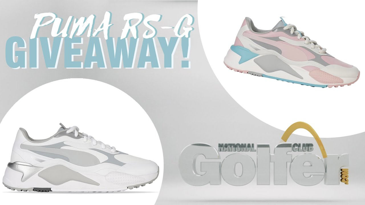 Win We Re Giving Away Three Pairs Of The New Puma Rs G Golf Shoes Youtube
