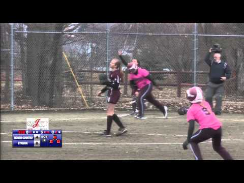 Lyndon Institute vs North Country - Softball 4/27/15