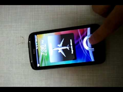how to fix htc touch screen not responding