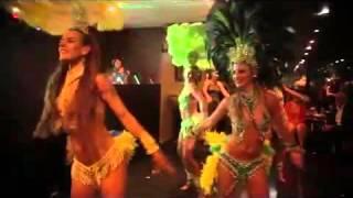 Brazil samba dancers