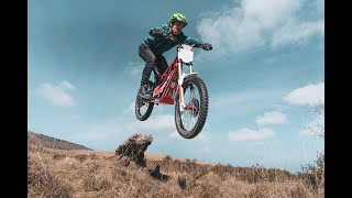 Chris Northover explores the rugged countryside on his OSET 24.0 motorcycle