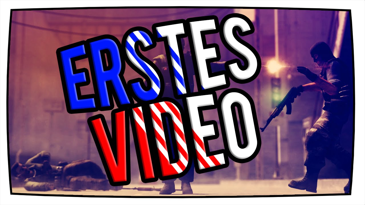 Erstes Youtube Video