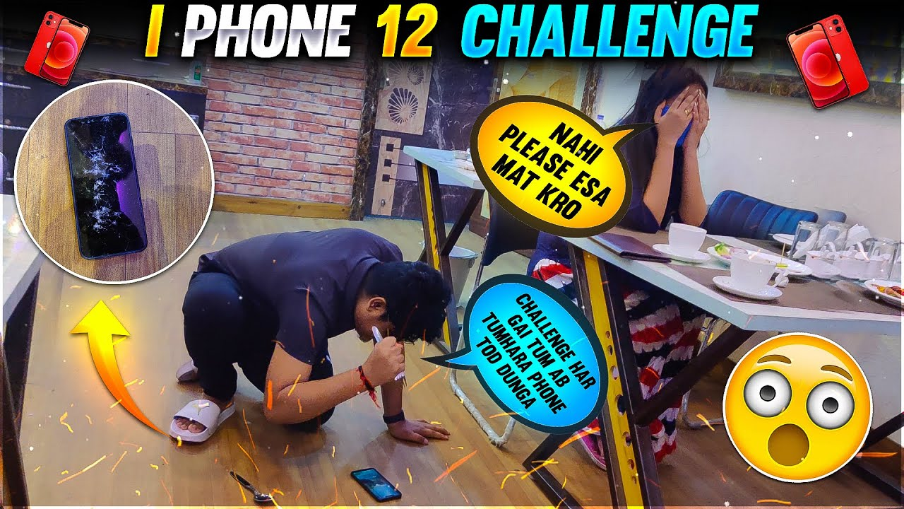 iPhone 12 Challenge With My Friend