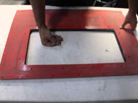 Tacoma Company Quick Change Glass Harbor Freight Sandblast Cabinet ...