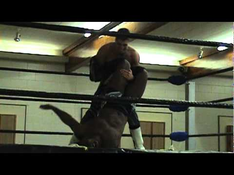 """Night Train"" Justin Sane vs ""Surf's Up"" Johnny Wave - MCW Heavyweight Championship - Brantford"