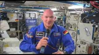 Preis des Westfälischen Friedens 2014: Interview mit Alexander Gerst auf der ISS