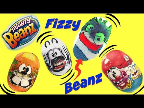 Mighty Beanz Surprise Blind Bag Capsules  and Slammer Race Track