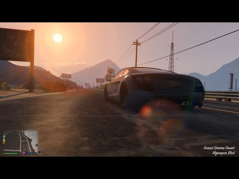 Chiến Mã AUDI R8 Siêu Xe Trong GTA V Tập 13