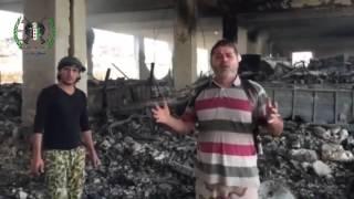 Последствия авиаударов России по ИГИЛ   Съемки террористов