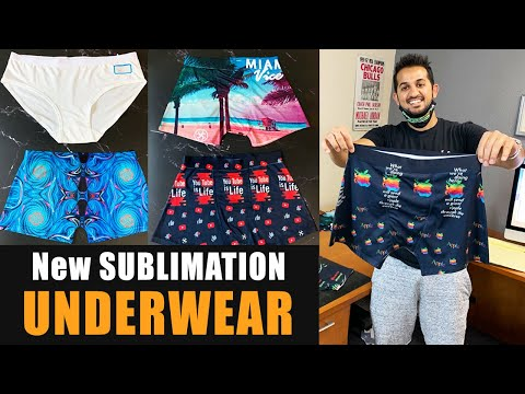 Coming Out With A Sublimation Underwear – Process