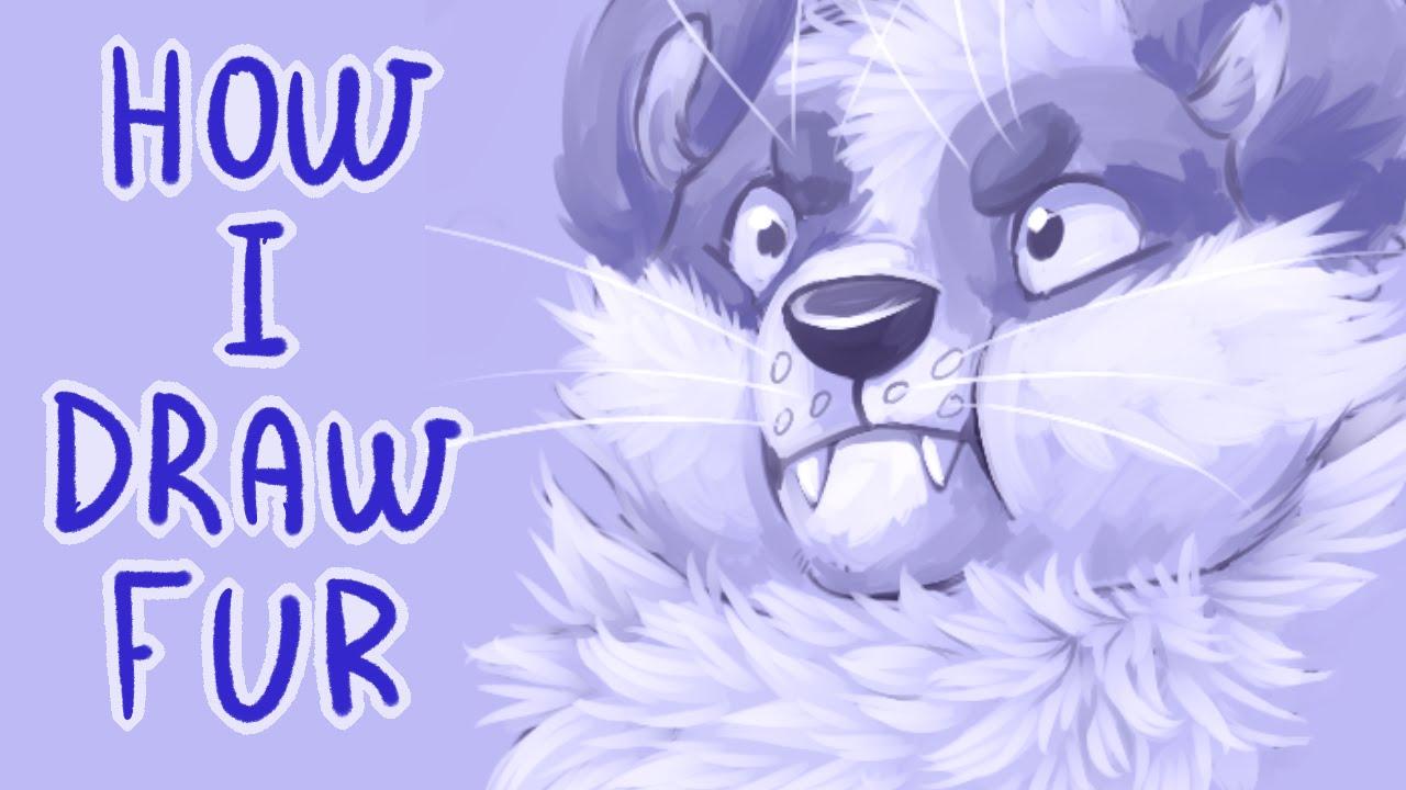 How I Draw Fur