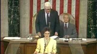 President Cory Aquino's historic speech (1/3) before the U.S. Congress (9-18-1986)