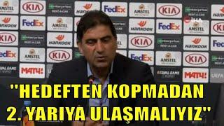 Ünal Karaman: ''Birçok şeyi söylemekte zorlanıyorum, sadece yaşıyorum / Krasnodar 3 - 1 Trabzonspor