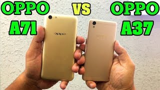 Oppo A71 Vs Oppo A37 Speed Test
