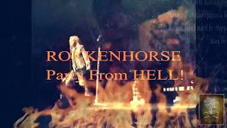 ROKKENHORSE Party From Hell! ~ ''Let It Go'' (LIVE 1990) Def Leppard classic