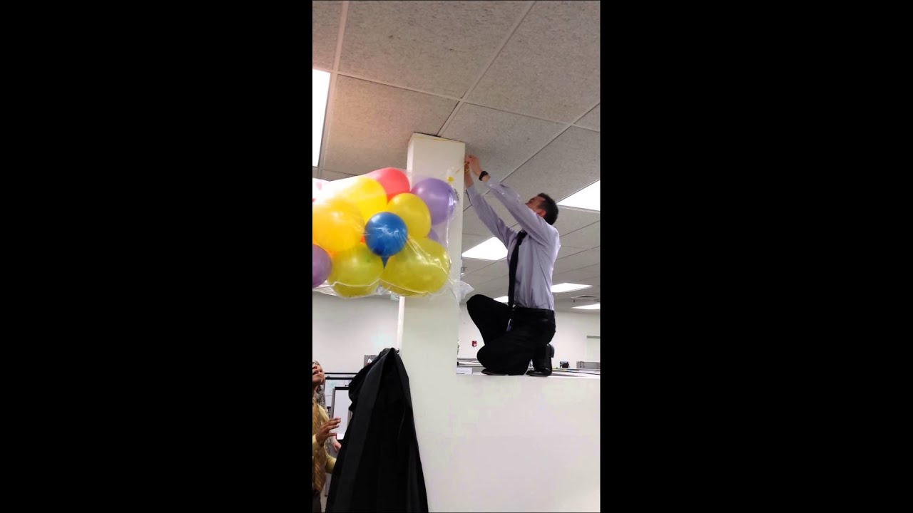The Making Of The Balloon Drop Youtube