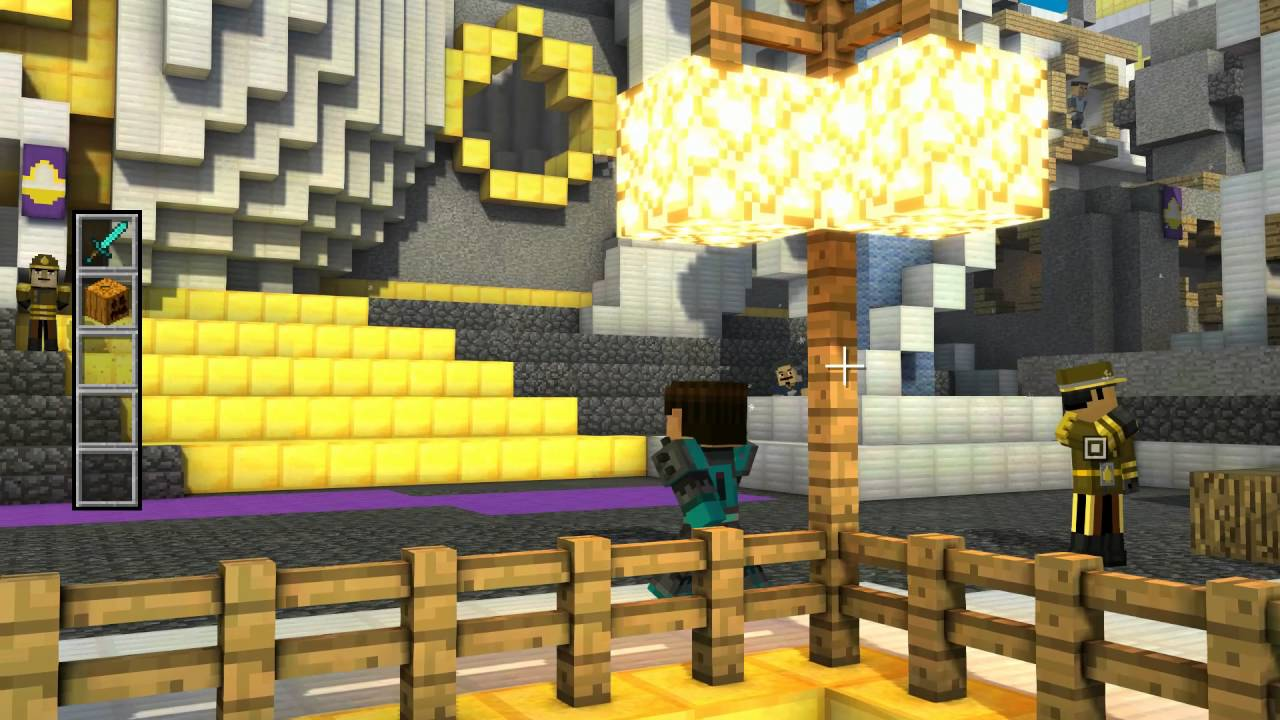 minecraft story mode castle