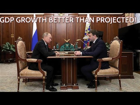 Putin Asks Economic Development Minister: How Is Russian Economy Doing?