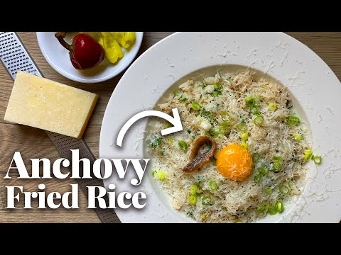 Anchovy Parmesan Fried Rice Is a Cheesy Umami Bomb